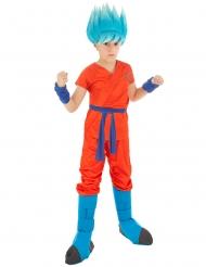 Super Dragon Ball™ Goku Saiyan kostuum voor kinderen