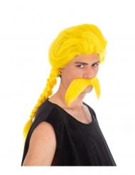 Kostunrix™ Asterix en Obelix™ pruik en snor