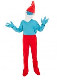 Grote Smurf™ kostuum voor kinderen