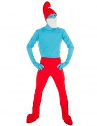 Grote Smurf™ kostuum voor volwassenen