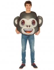 Emoji™ aap kostuum voor volwassenen
