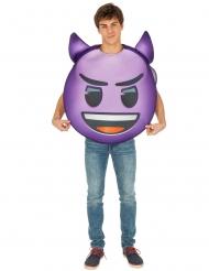 Duivelse Emoji™ kostuum voor volwassenen