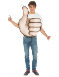 Duim omhoog Emoji™ kostuum voor volwassenen