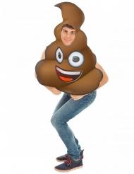 Drol Emoji™ kostuum voor volwassenen