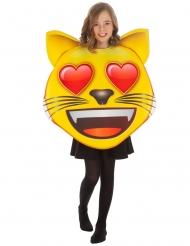 Emoji™ verliefde kat kostuum voor kinderen