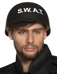 Zwarte SWAT helm voor volwassenen