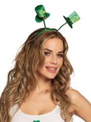Klavertjes hoeden haarband voor volwassenen