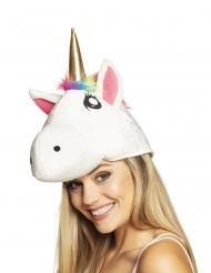 Eenhoorn kop hoed voor volwassenen