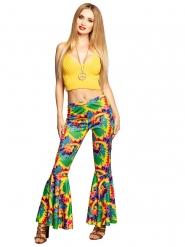 Olifantenpijpen hippie broek voor volwassenen