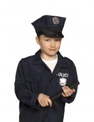 Zwarte politie knuppel voor kinderen