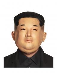 Latex Koreaanse dictator masker voor volwassenen