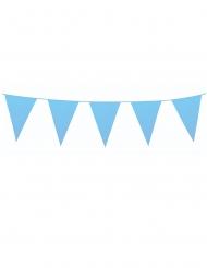 Blauwe slinger met mini vlaggetjes
