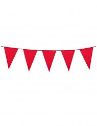 Rode slinger met mini vlaggetjes