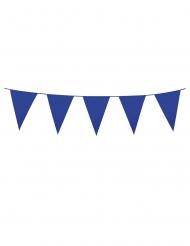 Donkerblauwe mini vlaggenslinger