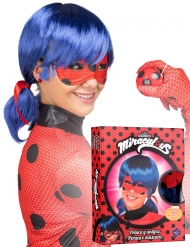 Cadeauverpakking Ladybug™ pruik en masker voor dames