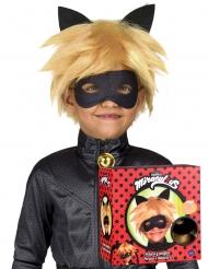Cadeauverpakking Cat Noir™ pruik en masker voor kineren