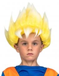 Dragon Ball™ Super Saiyan Goku pruik voor kinderen