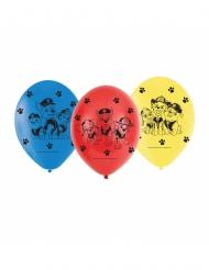 6 latex Paw Patrol™ ballonnen