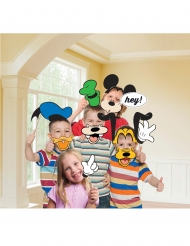 12 Mickey Mouse™ photobooth accessoires