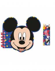 Mickey Mouse™ schrijfset en potloden