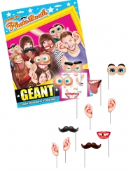 Enorme photobooth met 12 accessoires