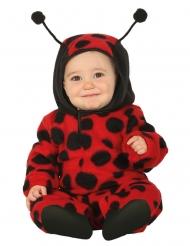 Lieveheersbeestje pak met capuchon voor baby