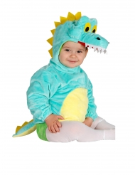 Krokodil tuniek met capuchon voor baby