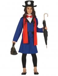 Engelse oppas kostuum voor meisjes