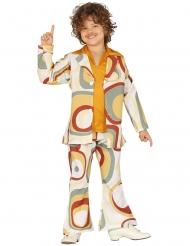 Geometrische disco patronen kostuum voor jongens
