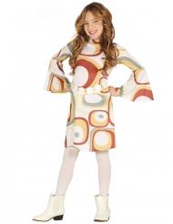 Geometrische patronen disco kostuum voor meisjes