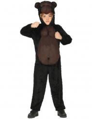 Zwart en bruin gorilla pak voor kinderen