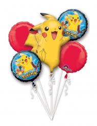 5 Pokemon ballonnen van aluminium
