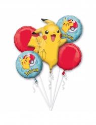5 Aluminium Pokemon™ ballonnen
