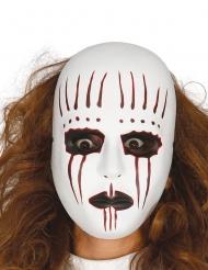 Duistere voodoo mime masker voor volwassenen
