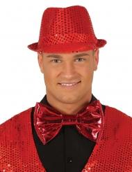 Enorm rood disco strikje voor volwassenen