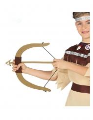 Indiaan boog met drie pijlen voor kinderen