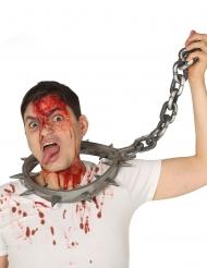 Martel halsband met ketting voor volwassenen