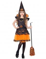 Pompoen heks kostuum voor meisjes