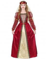 Koninklijke middeleeuwse prinses outfit voor meisjes