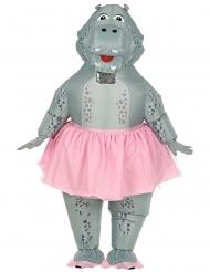 Nijlpaard ballerina kostuum voor volwassenen