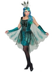 Keizerlijke pauw kostuum voor vrouwen