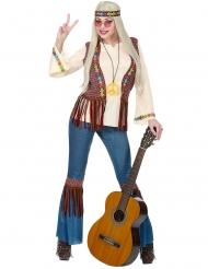 Hippie peace jaren 60 outfit voor vrouwen