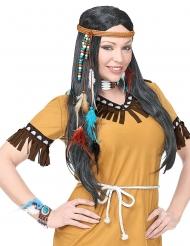 Wilde indiaanse accessoire set voor volwassenen