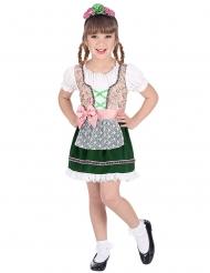 Klein Oktoberfest meisje kostuum voor kinderen