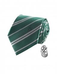 Deluxe Harry Potter™ Zwadderich stropdas met pin