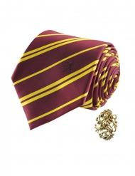 Deluxe Griffoendor Harry Potter™ stropdas met pin