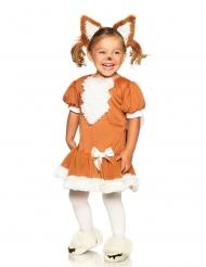 Grappige kleine vos outfit voor meisjes