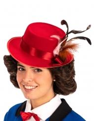 Rode Engelse oppas hoed voor volwassenen