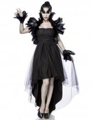 Raaf heks kostuum voor vrouwen