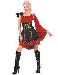 Stoer en elegant gladiator kostuum voor vrouwen